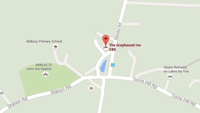Greyhound Inn map