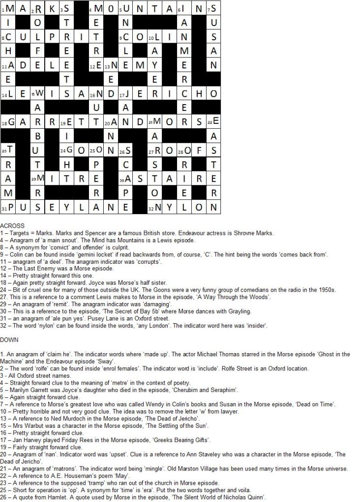 crossword+answers+no+3