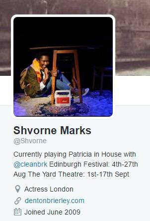 shvrone marks tweet